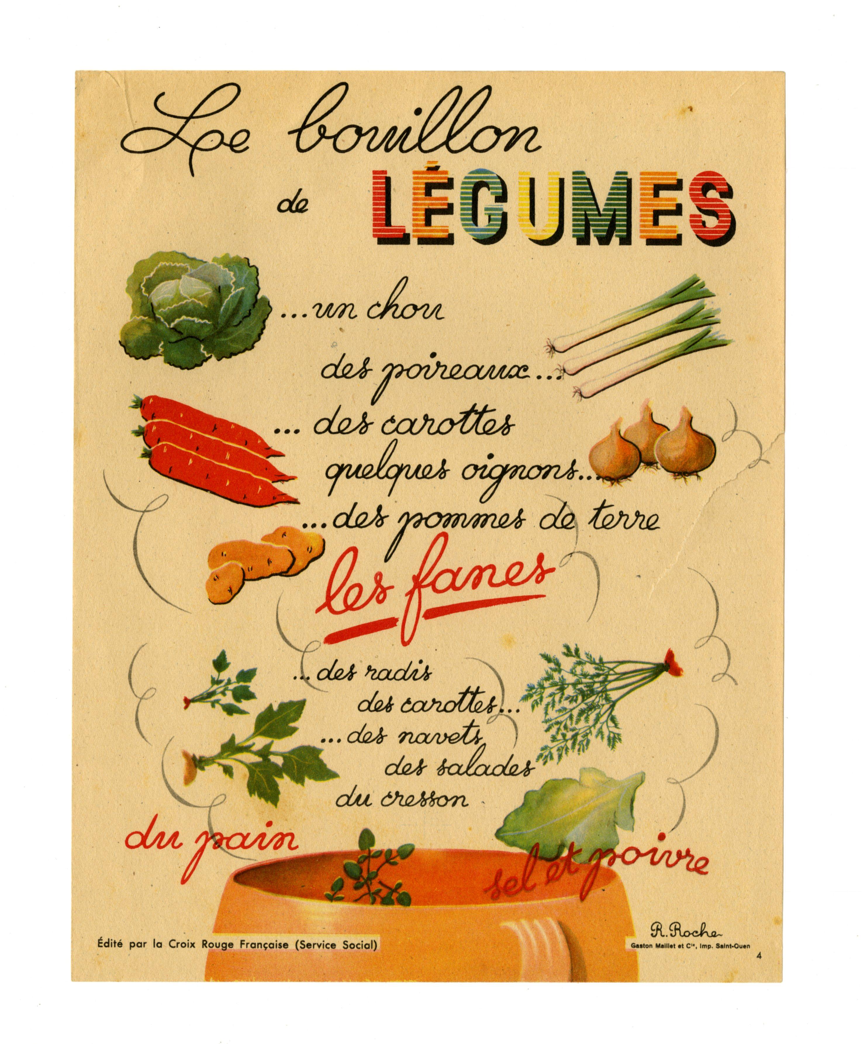 Affiche Bouillon