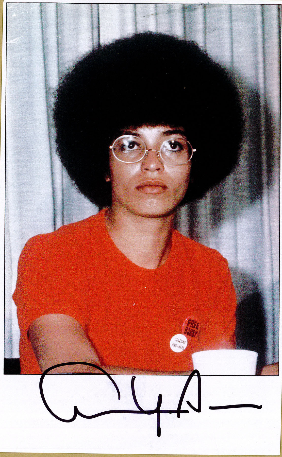 Angela Davis©Fonds Chomarat Est 19907 Collection BM Lyon