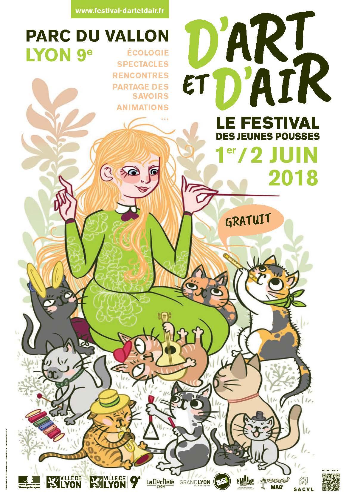 Festival D'Art et d'Air à Lyon