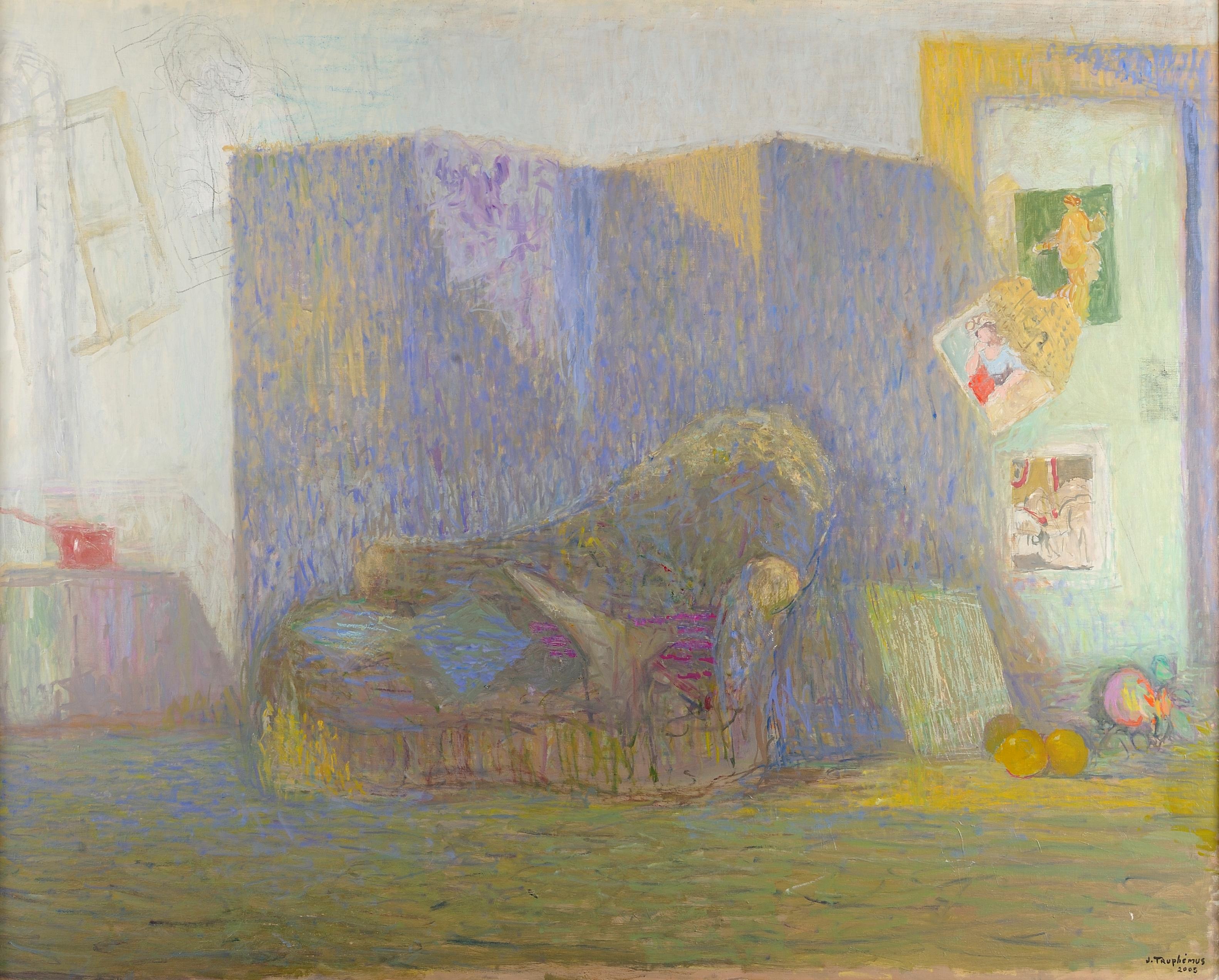Jacques Truphémus : coin atelier