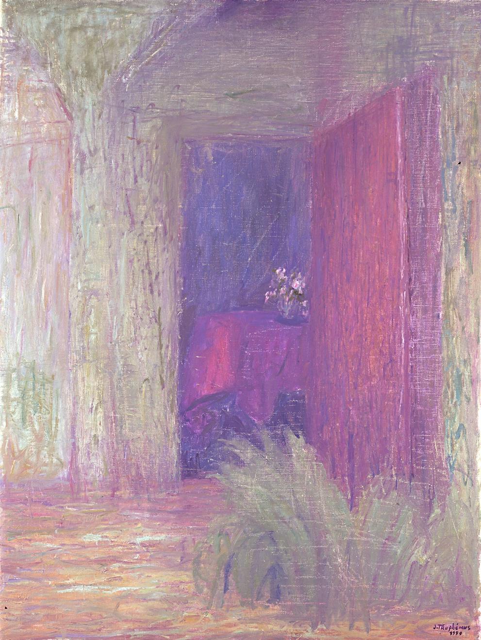 Jacques Truphémus : porte-ouvert intérieure
