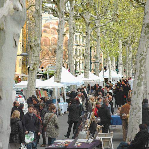 Marché de la Création à Lyon