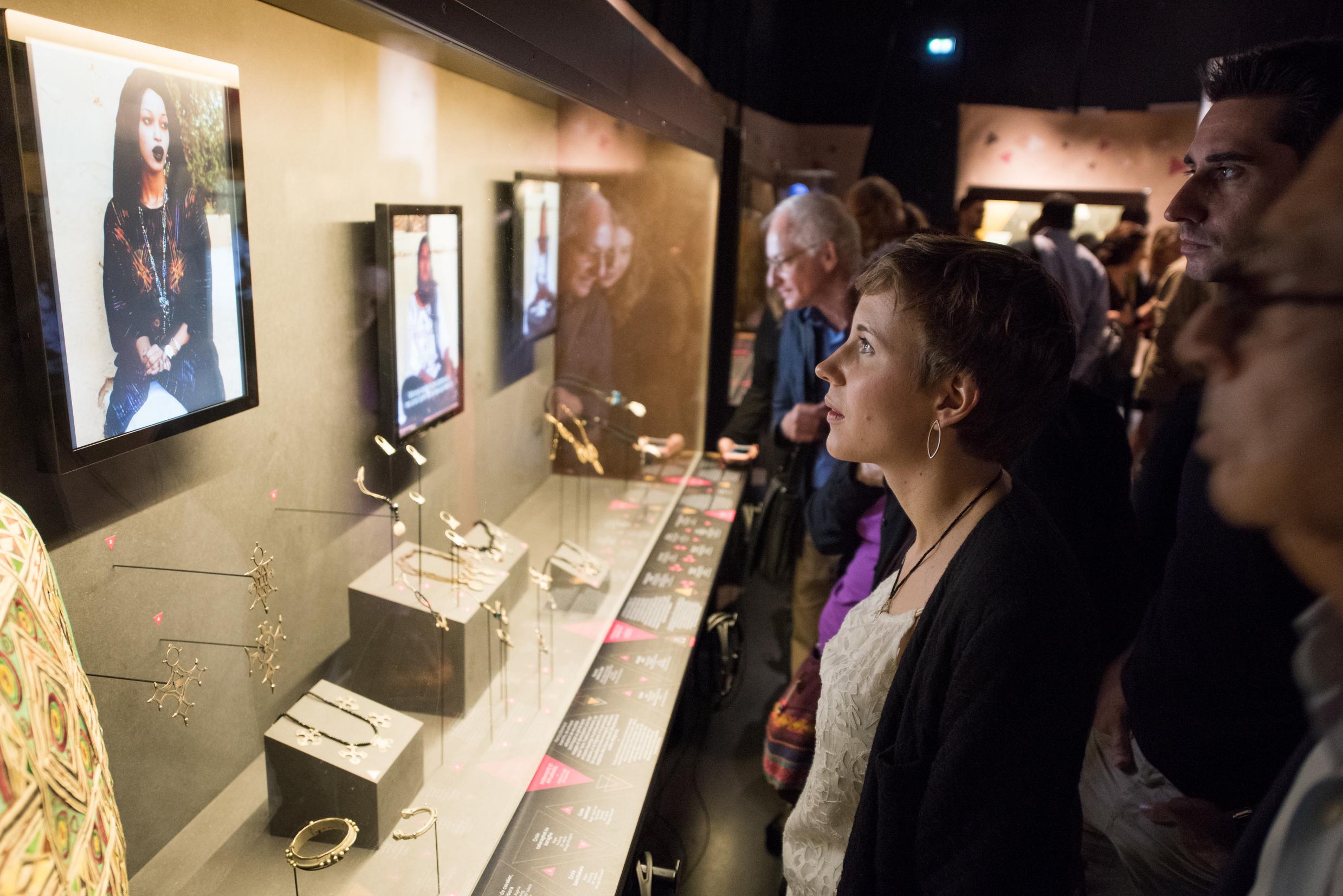 Touaregs - Exposition au Musée des Confluences