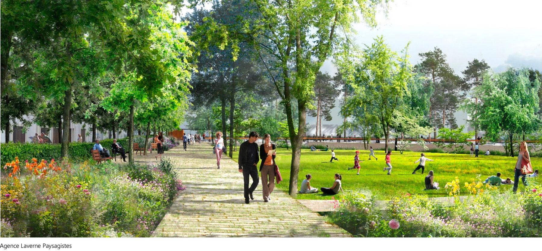 Parc Zénith à Lyon