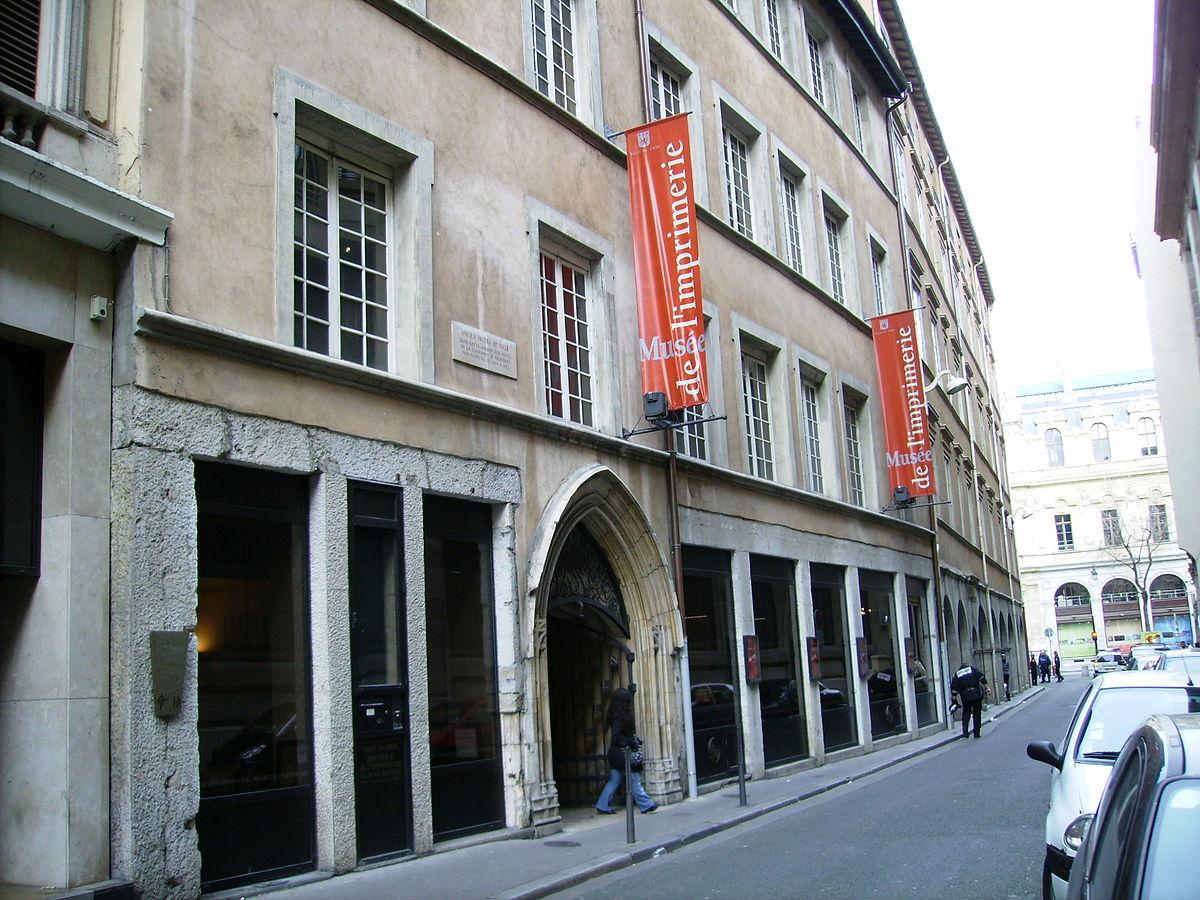 Musée de l'imprimerie Lyon