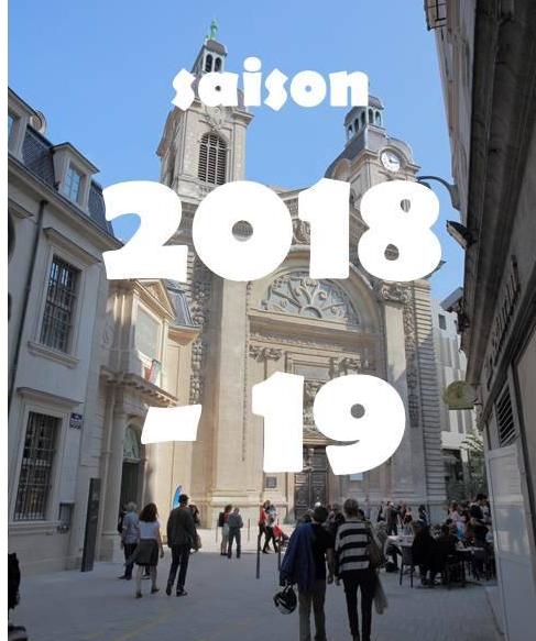 Association chapelle grand hostel-Dieu / Saison 2018/2019