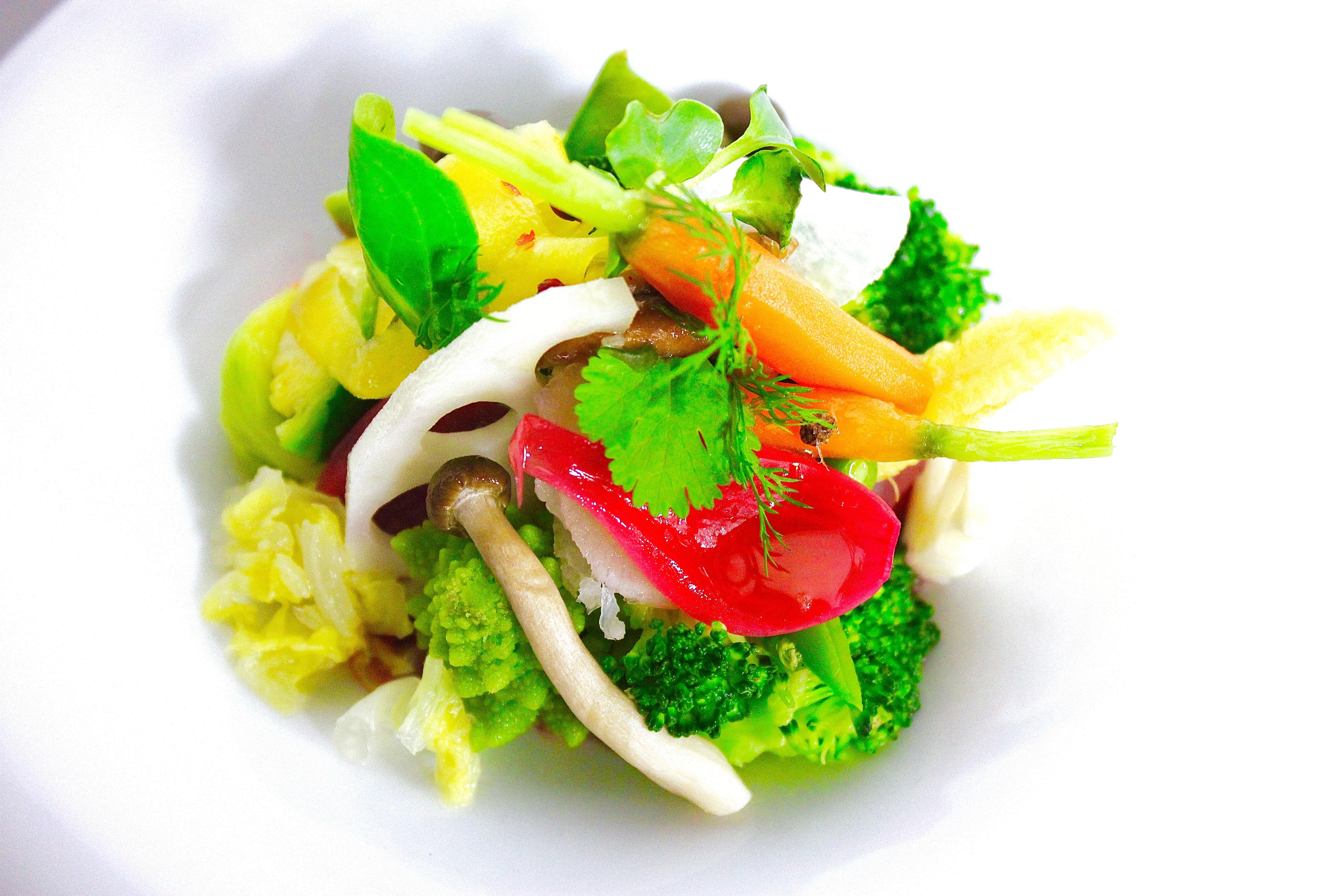 Restaurant Imouto à Lyon / légumes