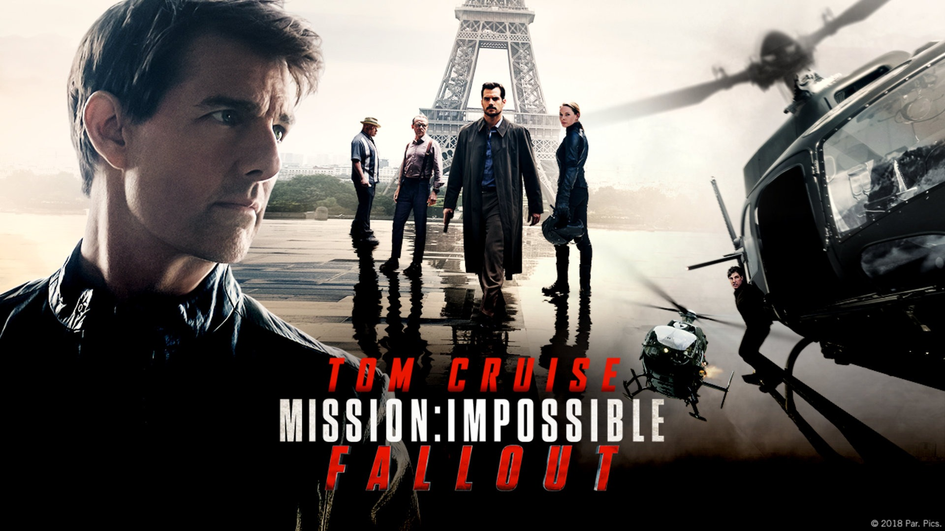 Mission Impossible : Fallout affiche