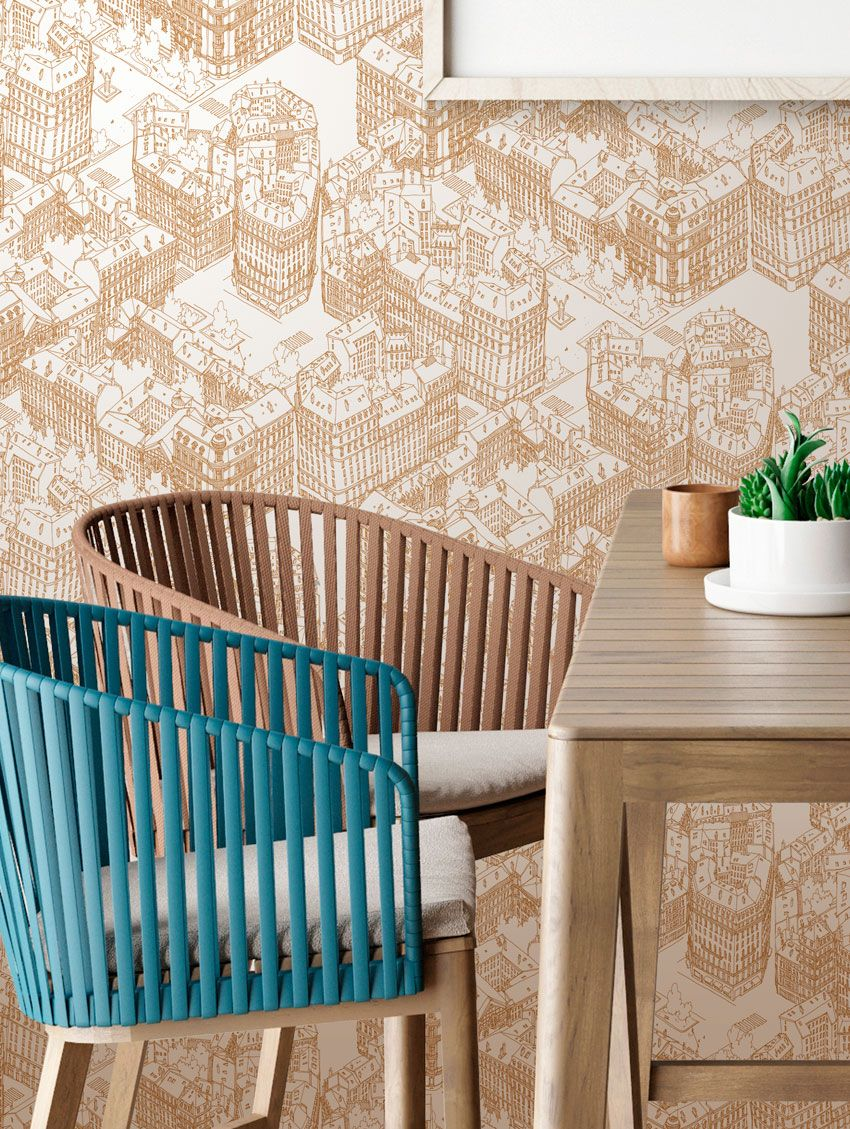 paris papier peint emilie ettori 7 a lyon. Black Bedroom Furniture Sets. Home Design Ideas