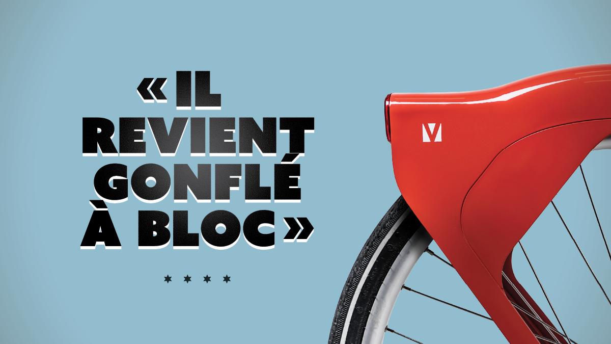 Nouveaux Vélo'v / Il revient gonflé à bloc