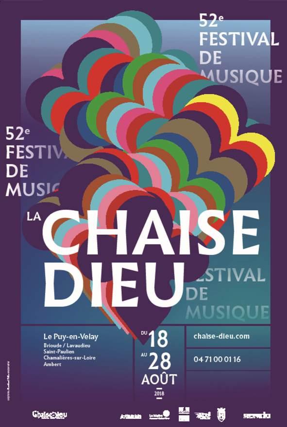 Festival de La Chaise-Dieu 2018 / Affiche