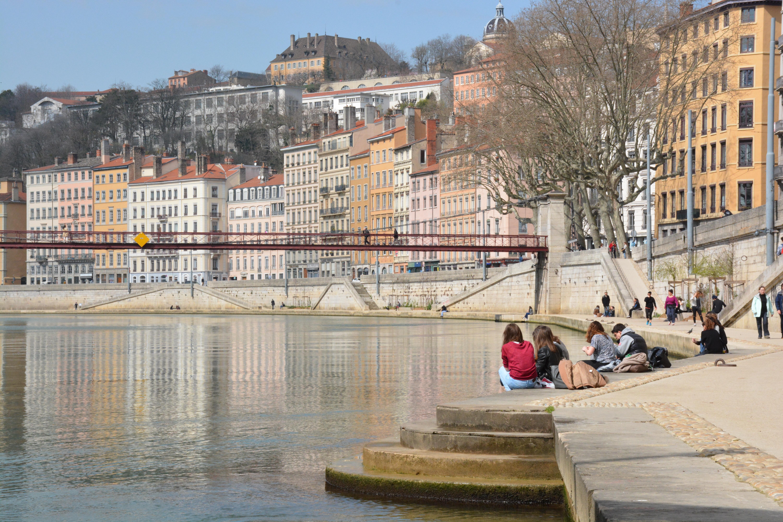 Lyon, la Saône