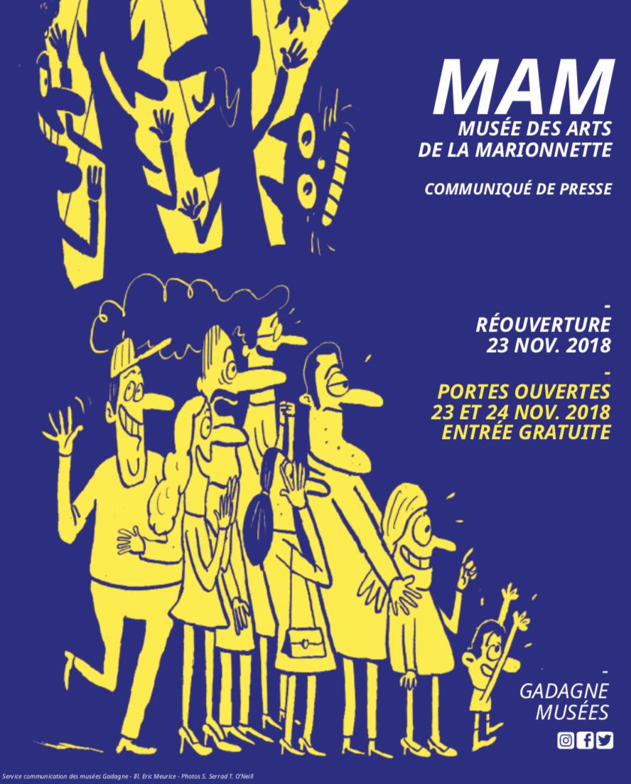 Nouveau MAM - Musée des arts de la marionnette