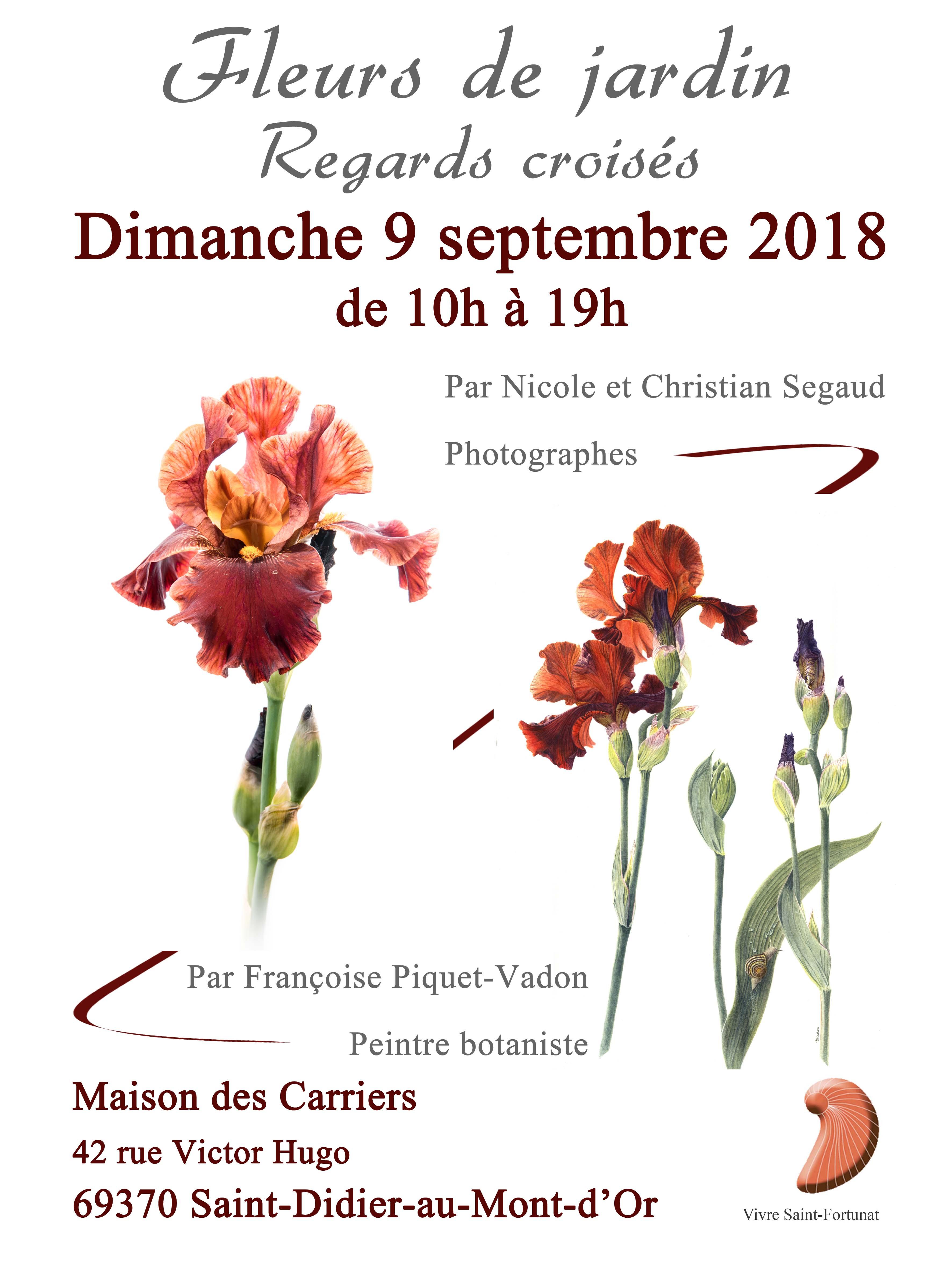 Les Jardins Des Monts D Or exposition fleurs de jardins, regards croisés, à saint