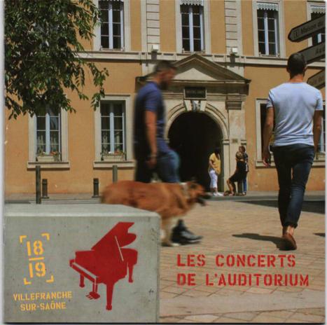 Concerts de l'Auditorium à Villefranche-sur-Saône, Saison 2018/2019