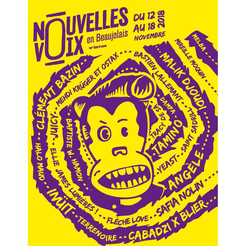 Festival Nouvelles Voix en Beaujolais 2018