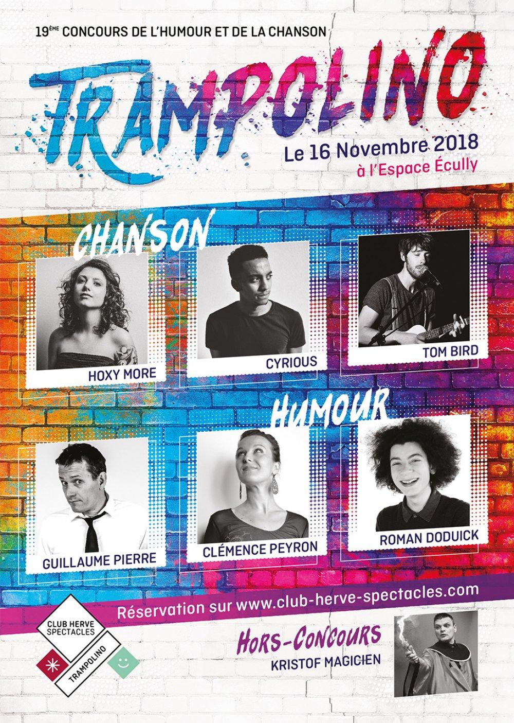 Trampolino 2018, le 16 novembre 2018 à l'Espace Ecully