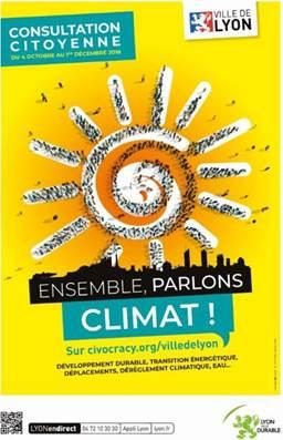 Consultation climat Lyon : déjà une forte participation
