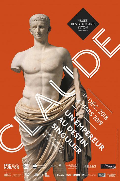 Claude, un empereur au destin singulier - Musée des Beaux Arts de Lyon