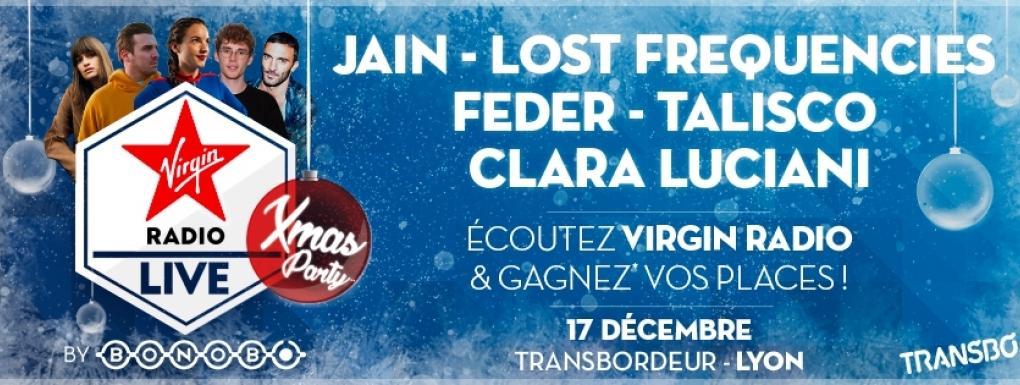 Virgin Radio Live au Transbordeur à Lyon avec Jain, Lost Frequencies, Clara Luciani et Feder