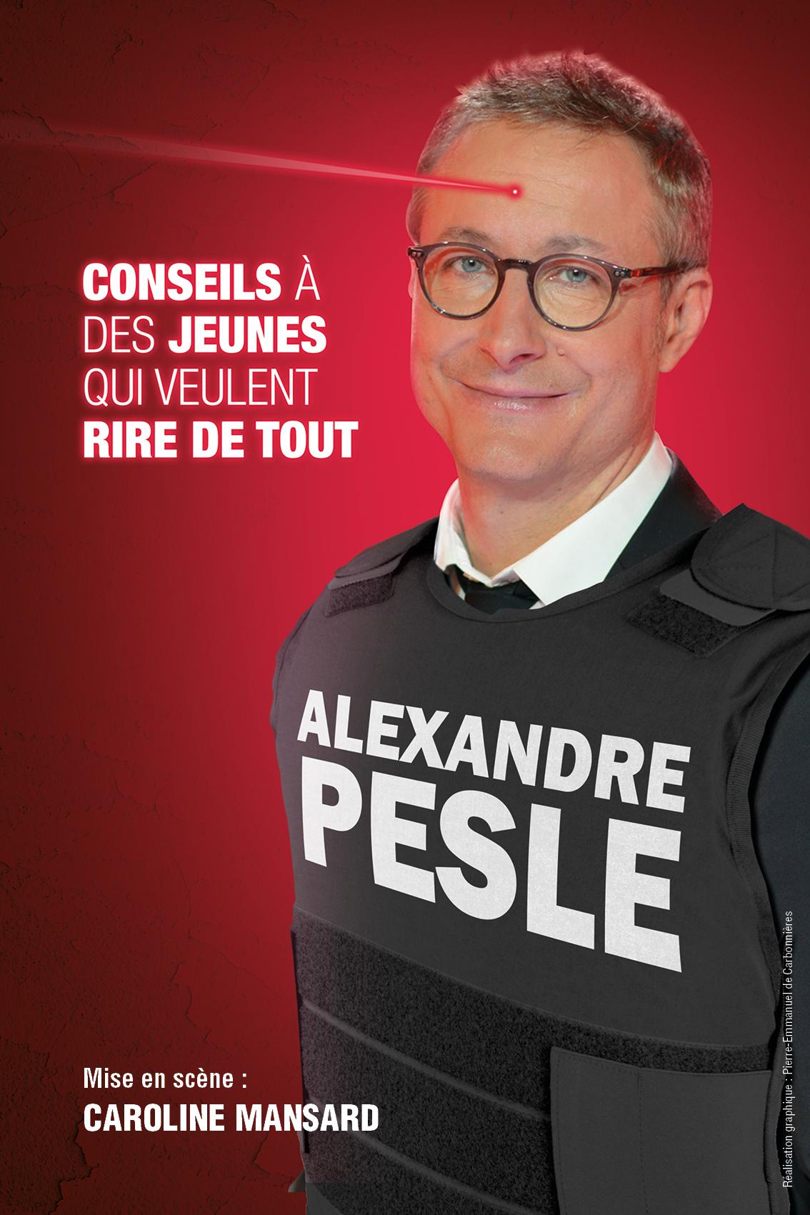 Espace Gerson : Alexandre Pesle - Conseil à des jeunes qui veulent rire de tout