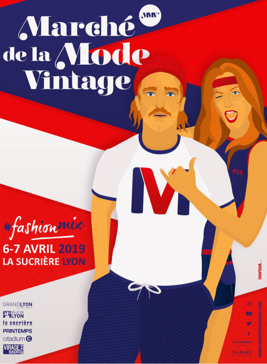 Marché de la mode vintage 2019  programme du dimanche 7