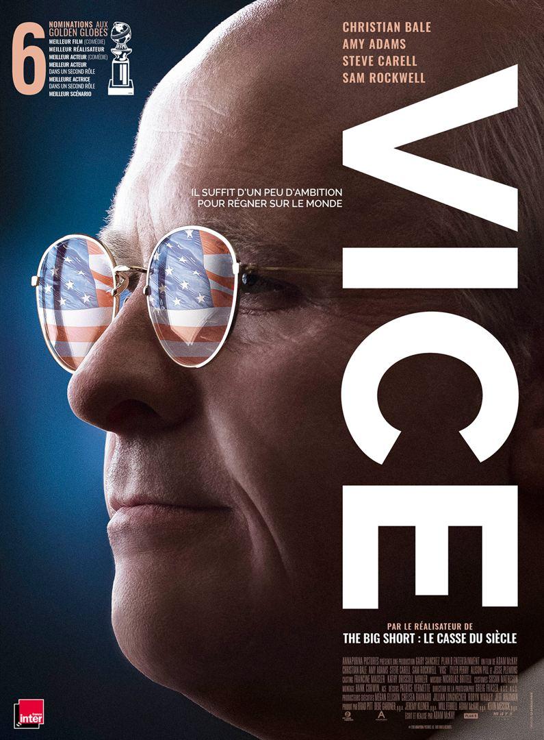 Vice d'Adam McKay : affiche