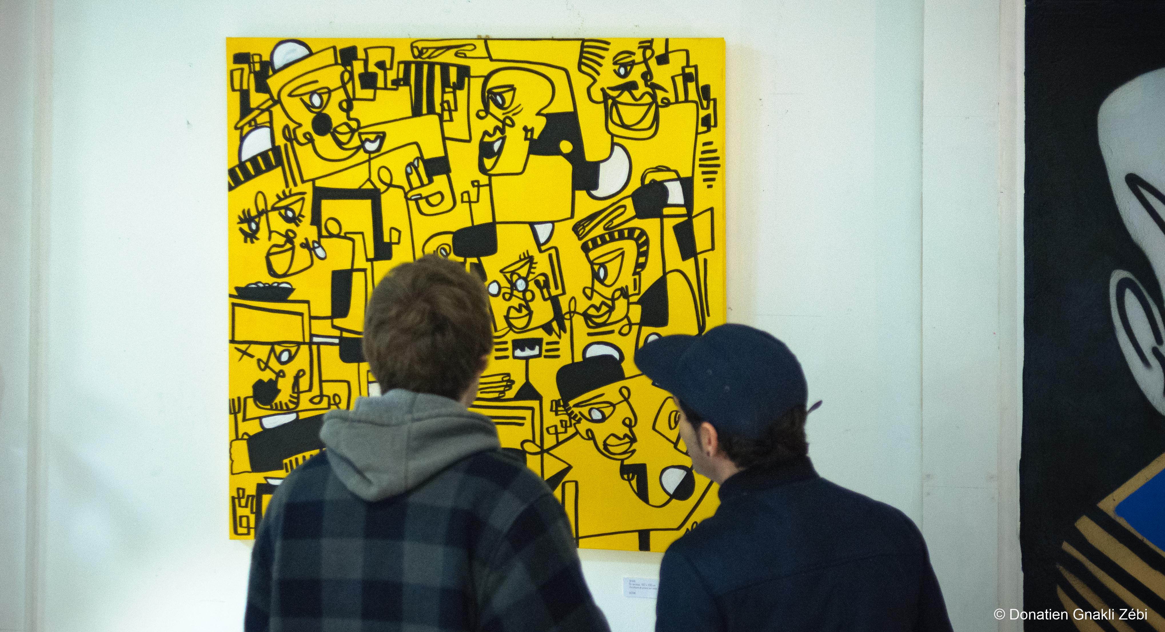 «Degrés 360», première exposition de Shab & Collab à la galerie Sitio