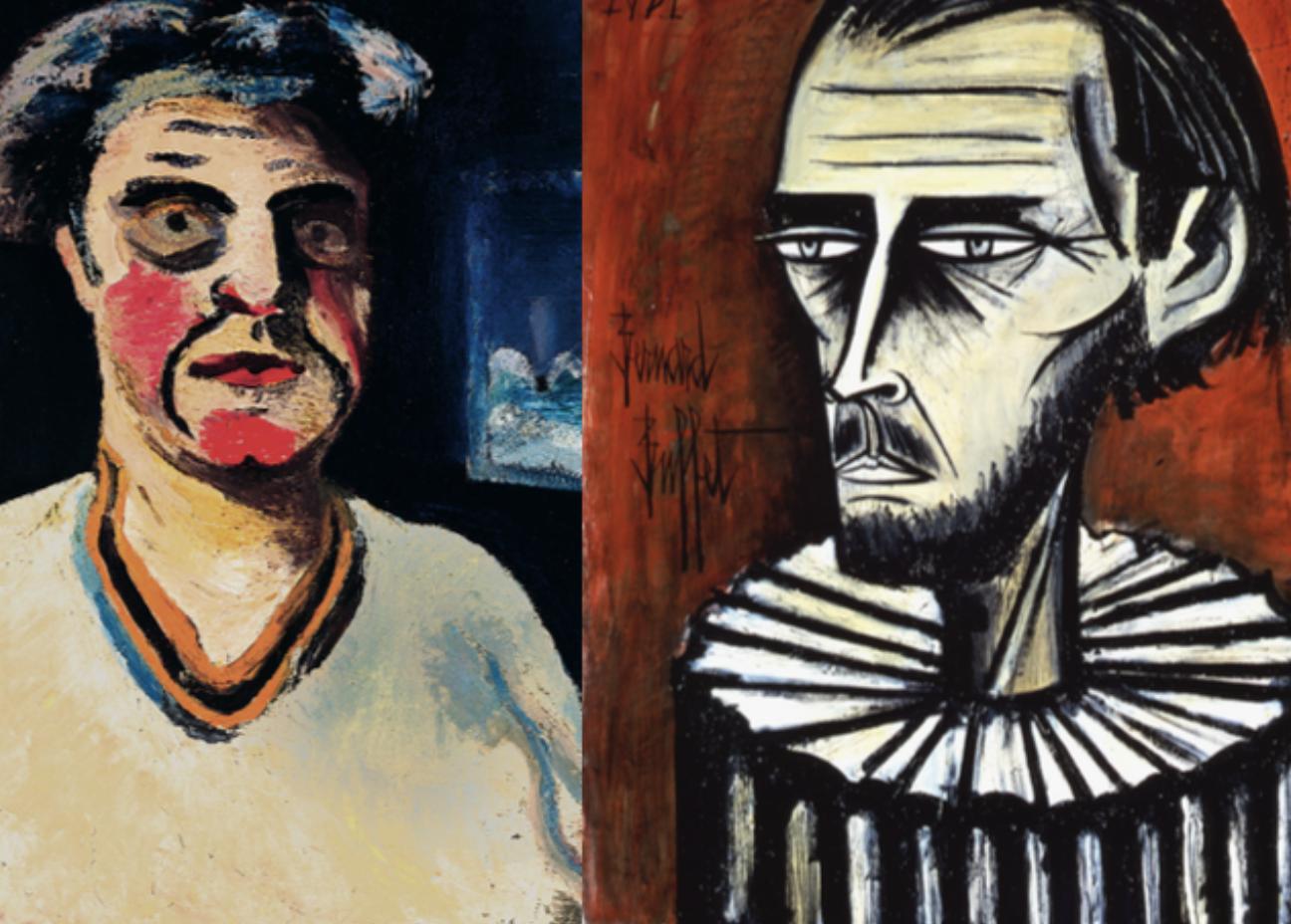 Musée Jean Couty : Bernard Buffet et Jean Couty : parcours croisés