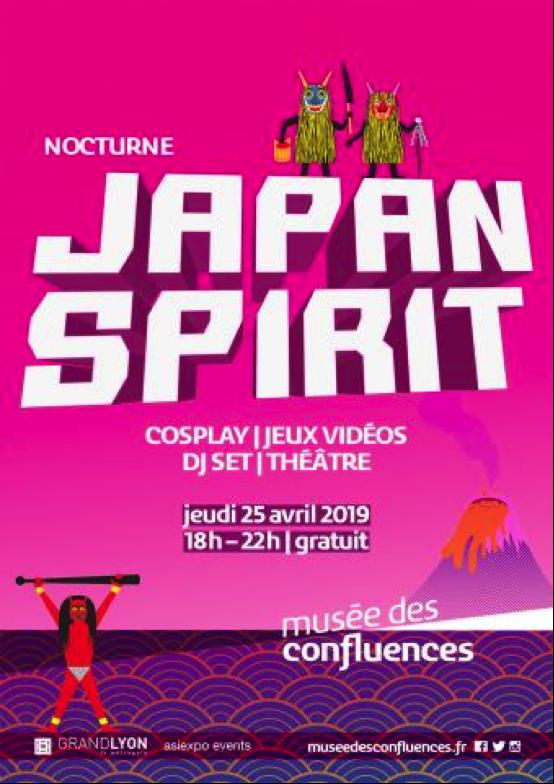 Musée des Confluences : Soirée Japan spirit