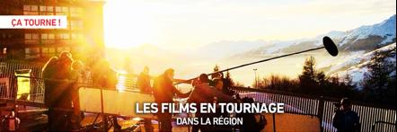 Tournages en région Rhône-Alpes-Auvergne