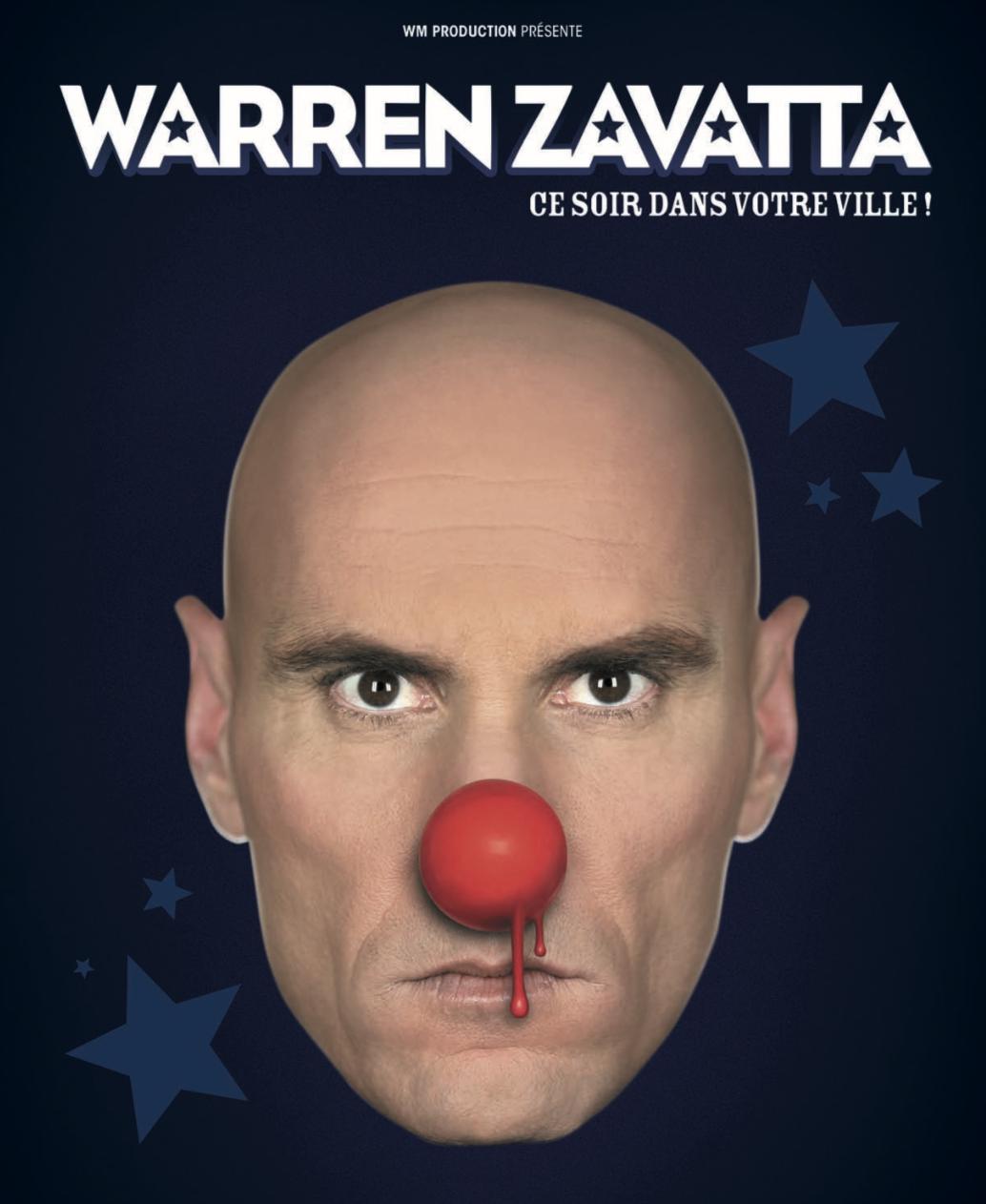 Warren Zavatta - Ce soir dans votre ville - Le Toboggan à Décines
