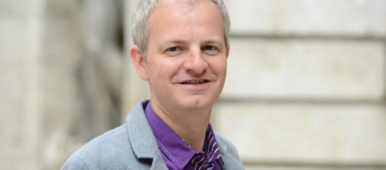 Loïc Graber, adjoint à la culture de Lyon