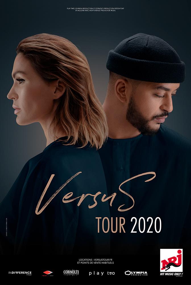 Vitaa & Slimane - Versus Tour - Vendredi 20 novembre 2020 à la Halle Tony Garnier