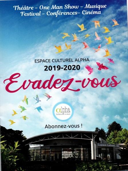 Espace Culturel Alpha à Charbonnières-les-Bains : saison 2019/2020