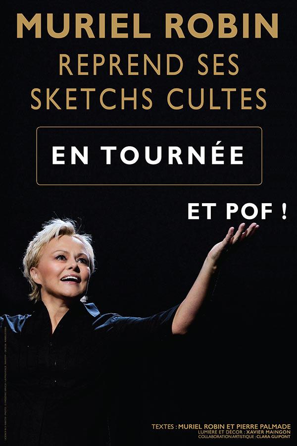 Muriel Robin - Et Pof ! - Halle Tony Garnier - 21 janvier 2020