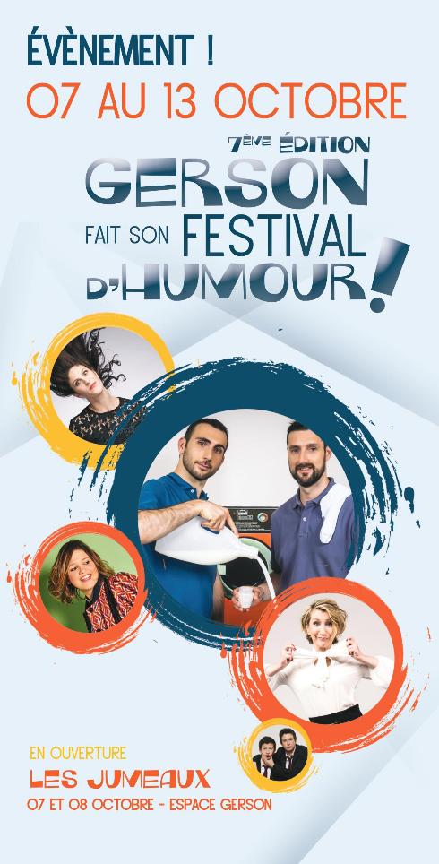 Festival de l'humour 2019 à l'Espace Gerson