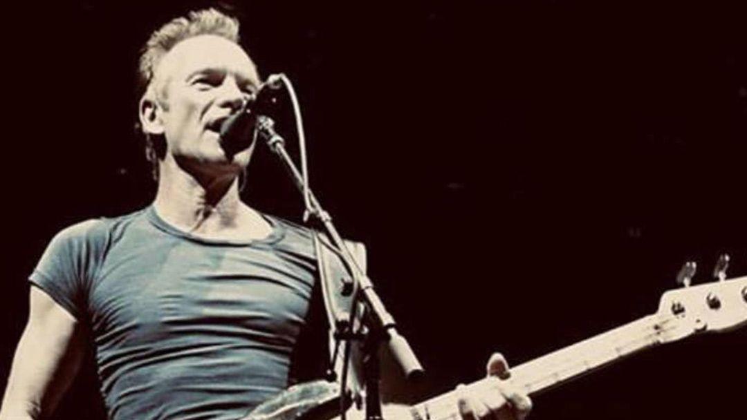 Sting en concert le Vendredi 25 Octobre 2019, Halle Tony Garnier