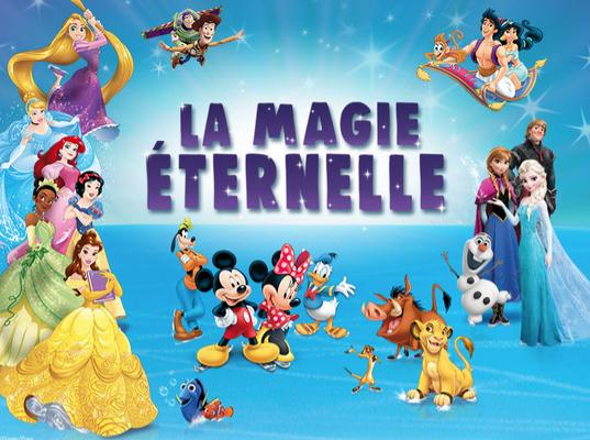 Disney Sur Glace - La Magie Eternelle   Halle Tony Garnier du 8 au 12 janvier 2020