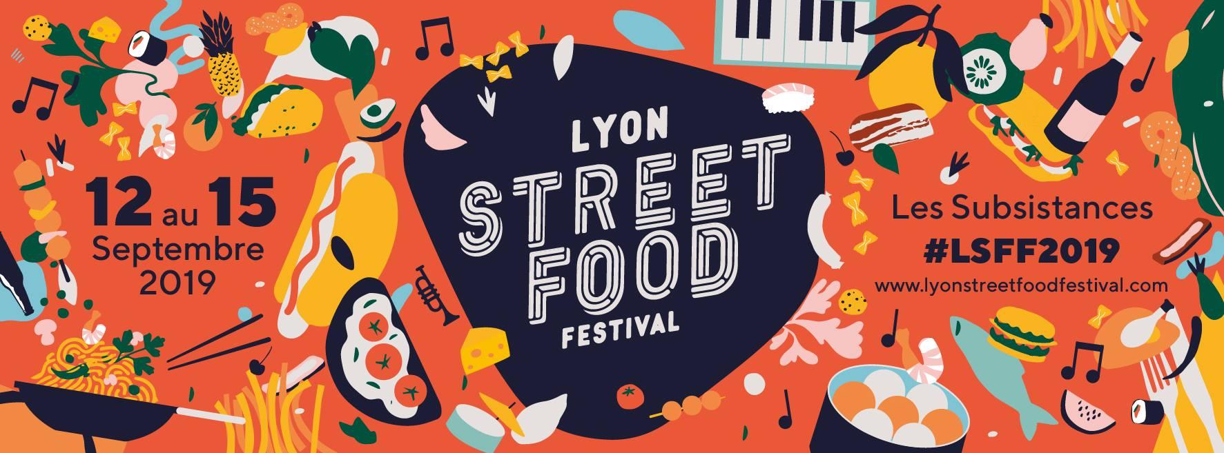 Lyon Street Food Festival | 4ème édition | Du 12 au 15 septembre 2019