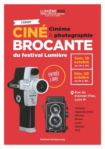 Festival Lumière 2019 : Brocante Cinéma et PhotographieFestival Lumière 2019 : Brocante Cinéma et Photographie