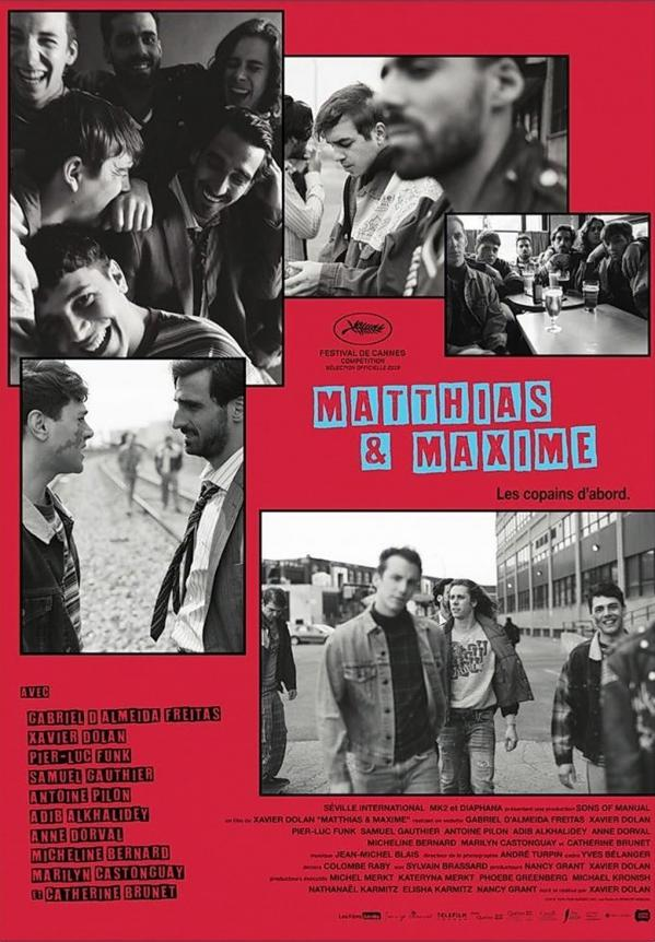 Mathias et Maxime de Xavier Dolan