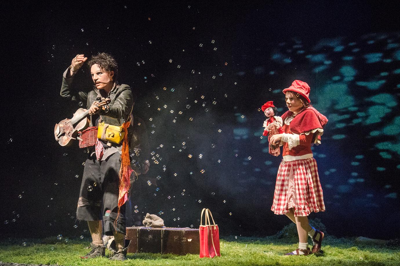 Le Chaperon Louche L'Itinéraire d'un Enfant Perdu - Théâtre de Villefranche