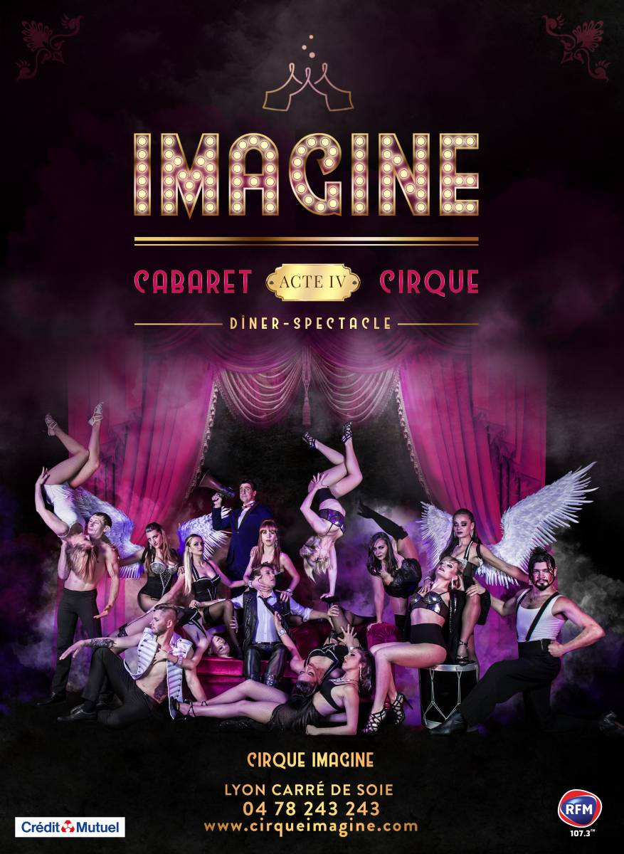 Cirque Imagine : nouveau spectacle 2019-2020 Cabaret-Cirque