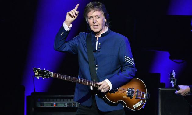 Paul McCartney en concert au Groupama Stadium le 7 juin 2020