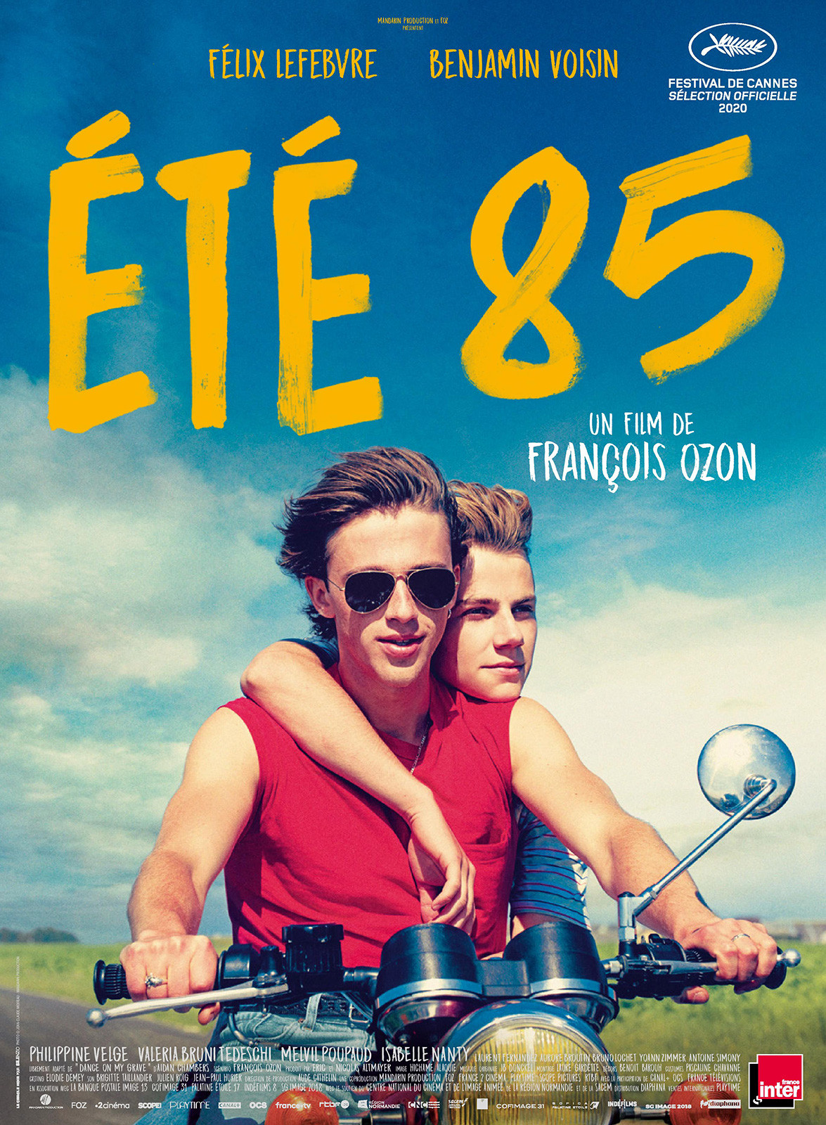 Eté 85 de François Ozon