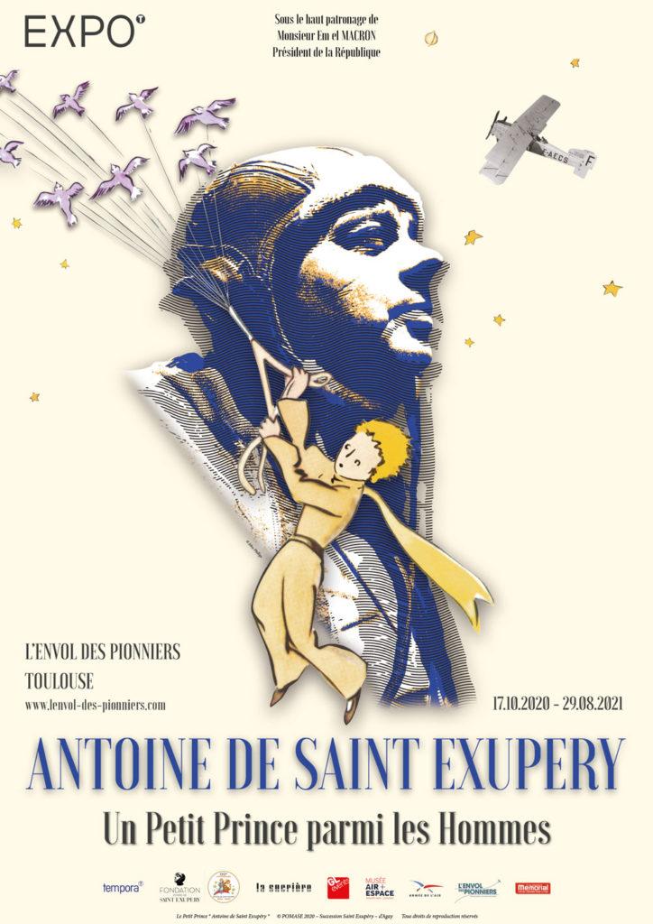 """Exposition """"Antoine de Saint Exupéry Un Petit Prince parmi les Hommes"""""""
