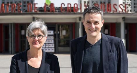 Théâtre de La Croix-Rousse : Anne Meillon et Jean Lacornerie