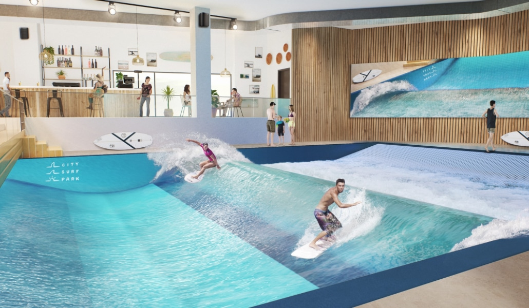 City Surf Park Lyon