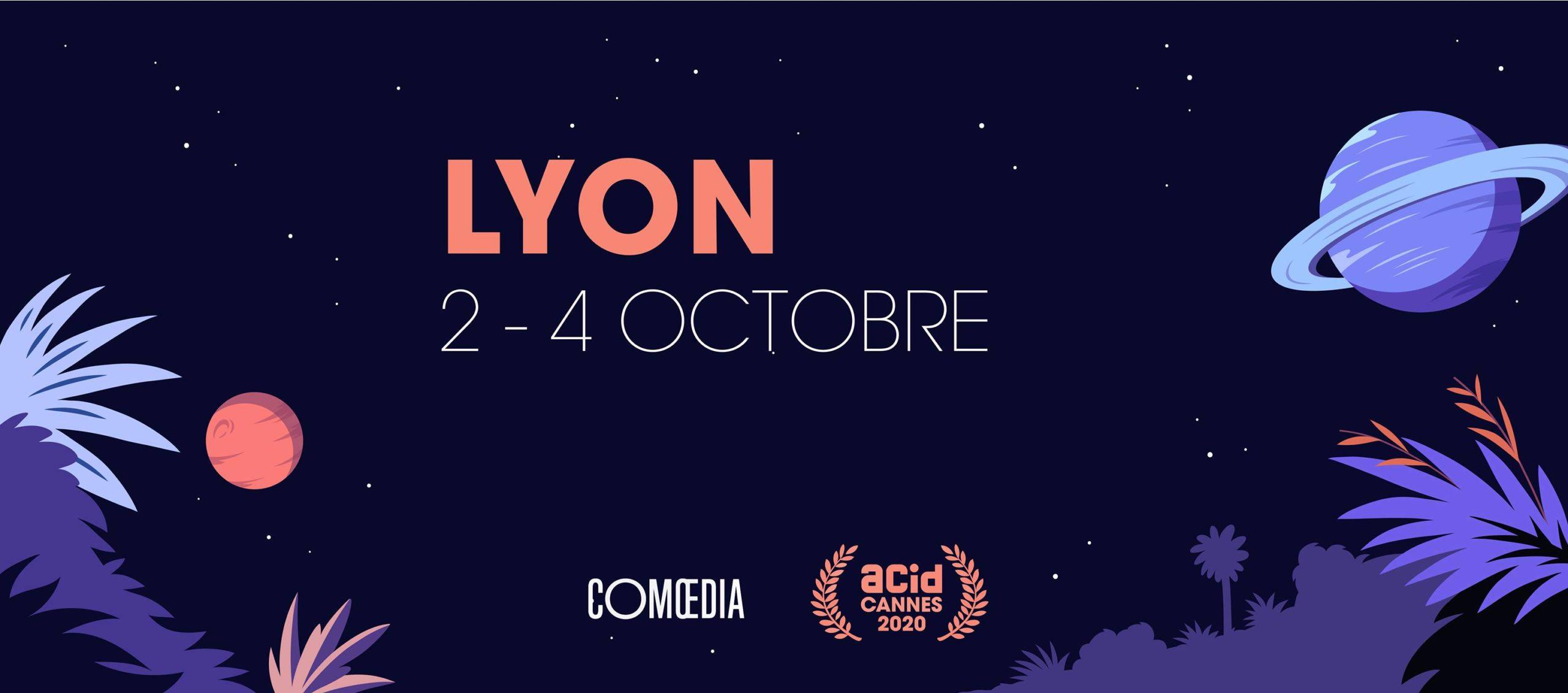 L'ACID Cannes Hors-les-Mur à Lyon